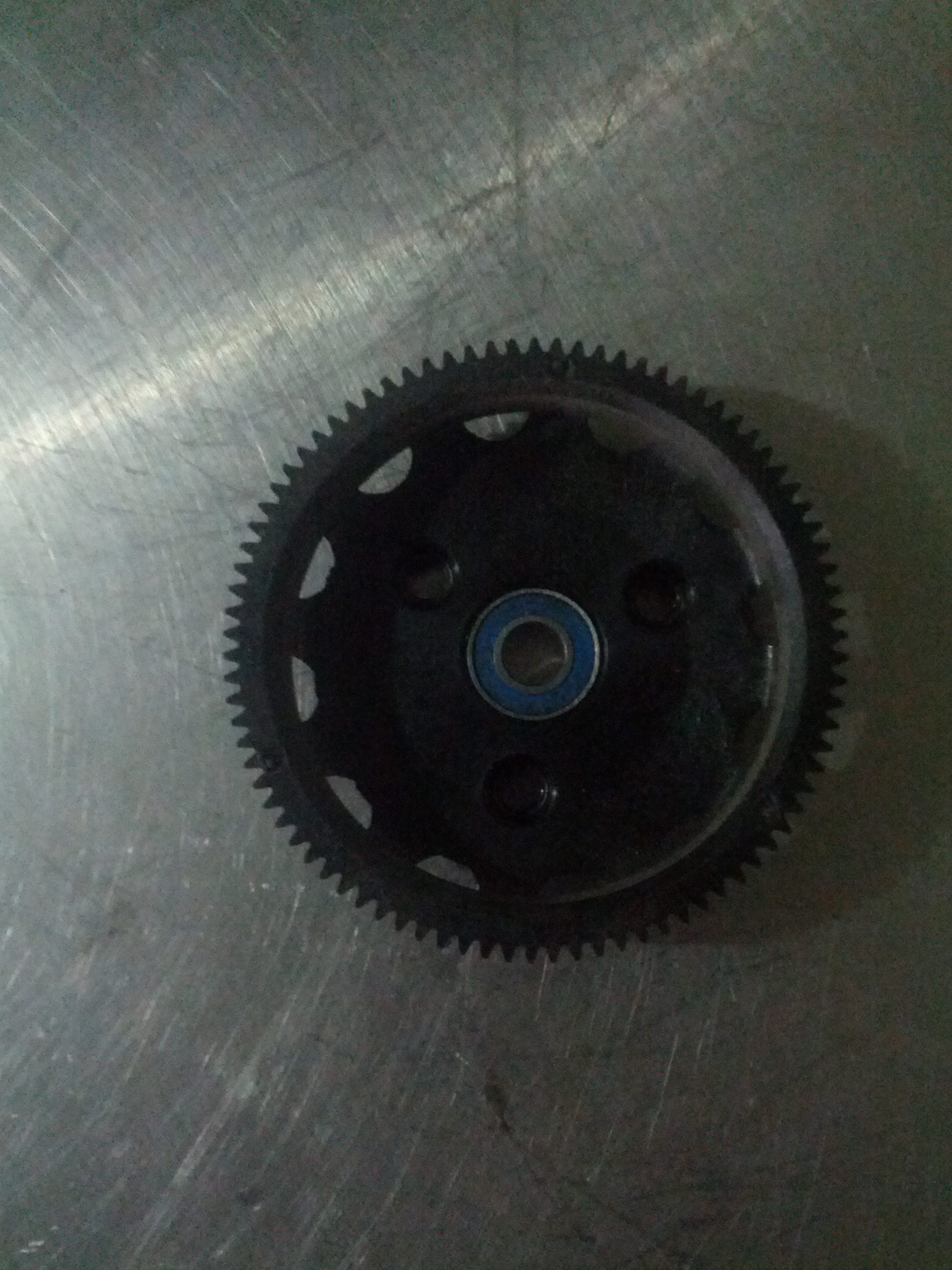 Picture of Reassembling the Gears.