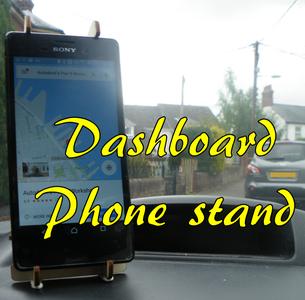Dashboard Phone Stand