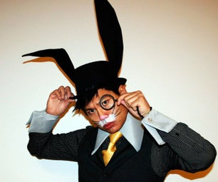 Make a Bunny Ear Top Hat