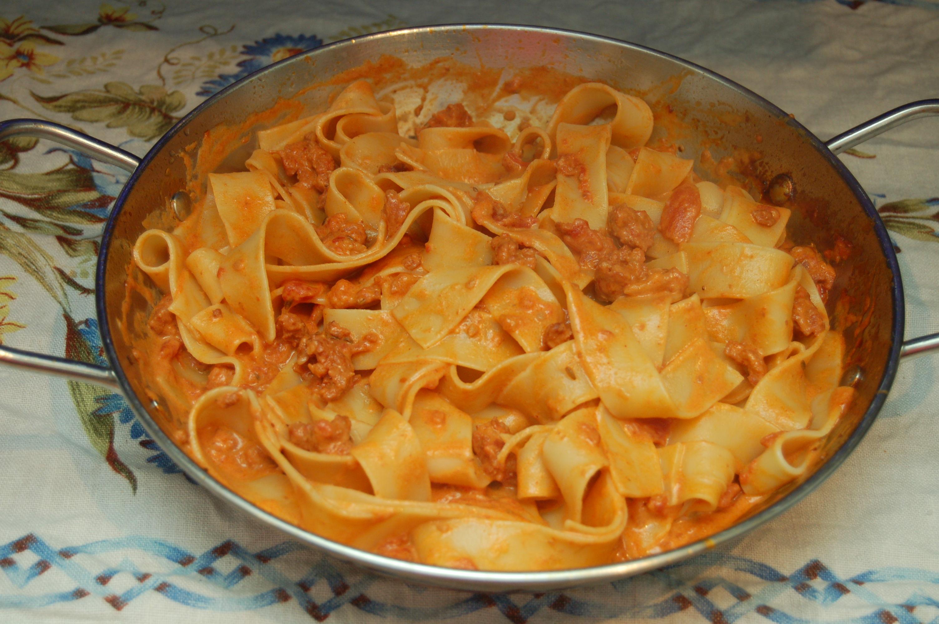 Picture of Chorizo, Mascarpone and Tomato Pasta Sauce