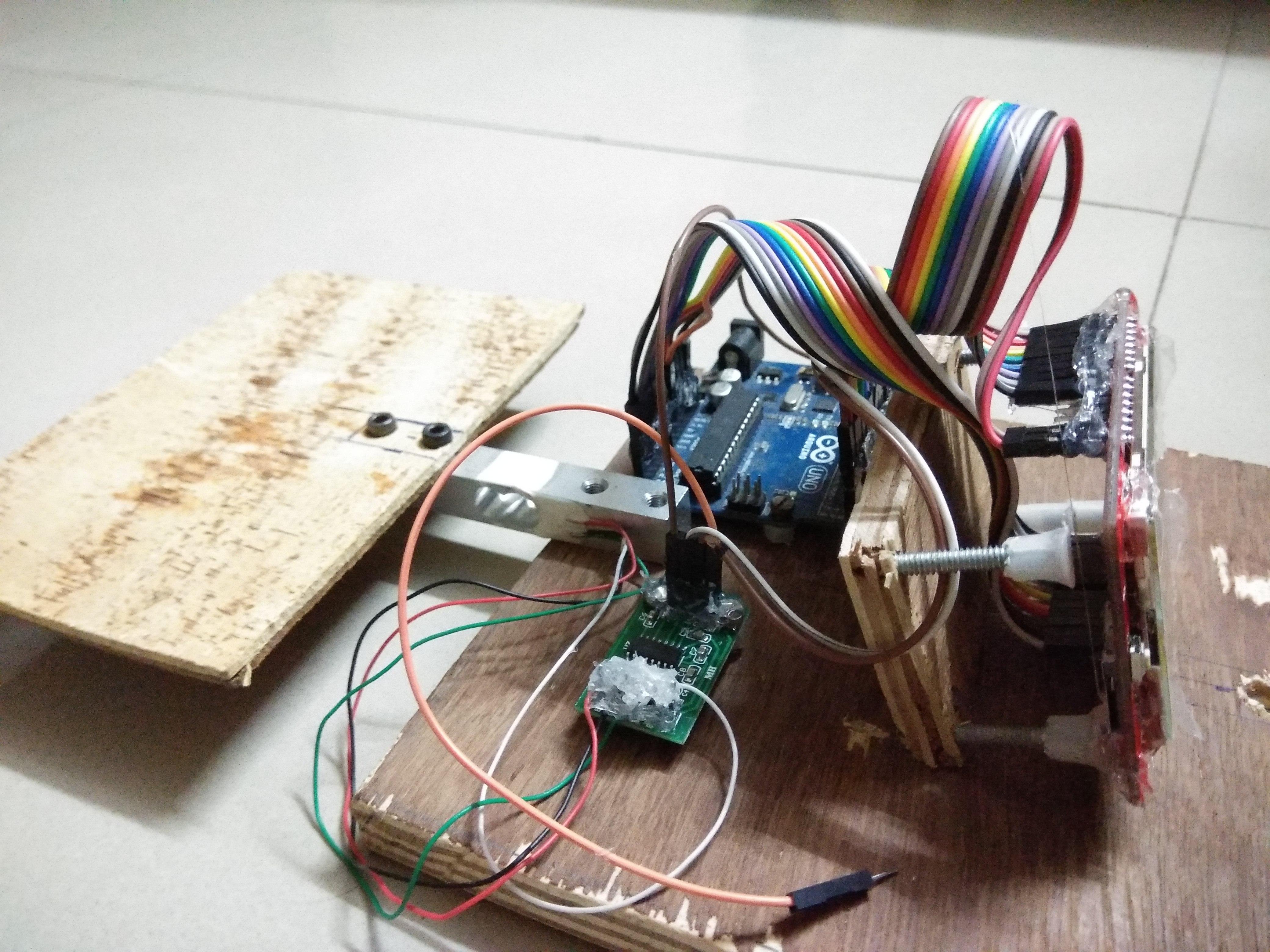 Picture of Mechanical Arrangement