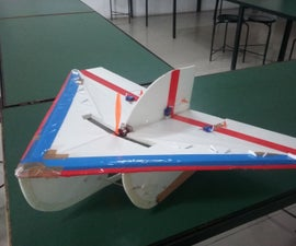 RC Delta Plane With Kfm3 Airfoil