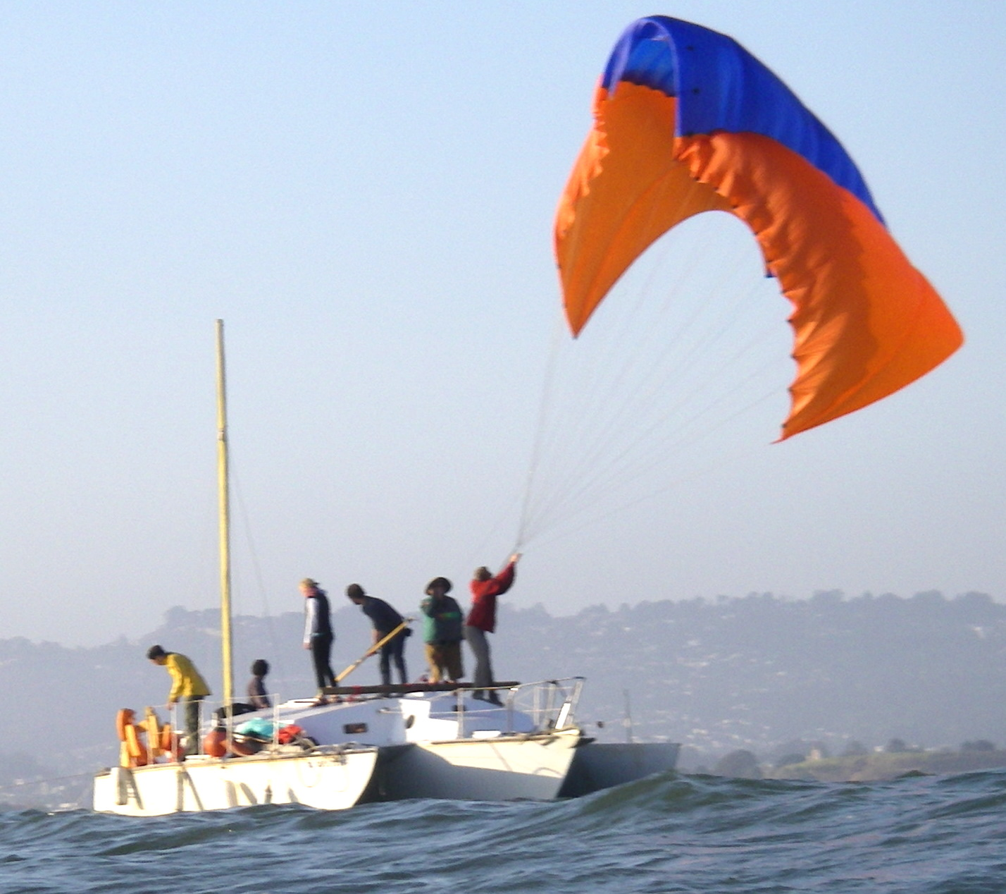 Picture of Free Yacht Chapter 12: Kiteboat!