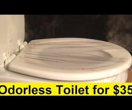 Odorless Toilet for $35