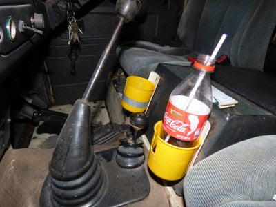 Enjoy the New Cup Holder...