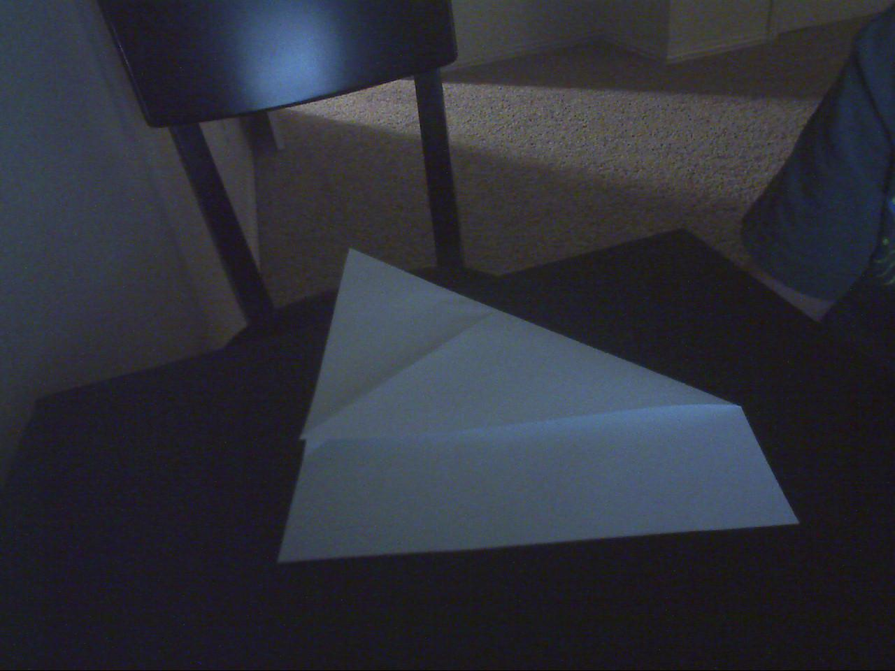 Picture of Opposite Corner Fold & Unfold