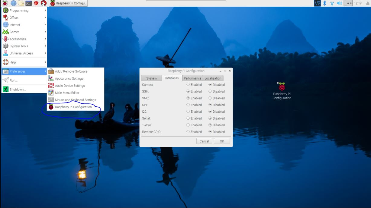 Picture of Set Up the VNC Viewer