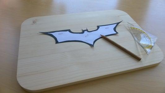 Create a Batman Shaped Hole