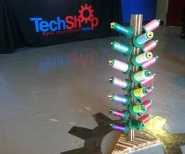 A thread holder/lollipop tree!