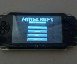 MineCraft on a PSP 1000