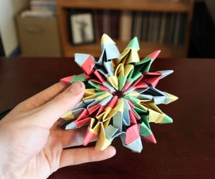 How to Make Origami Fireworks