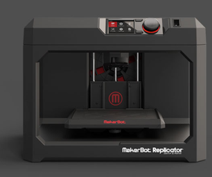 MakerBot Replicator 5th Generation 3D Printer