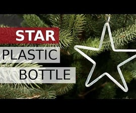 Star With Plastic Bottles