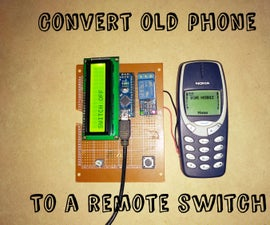 Convert Your Old Phone to a Remote Switch