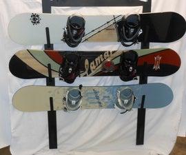 Scenic Metal Snowboard Rack