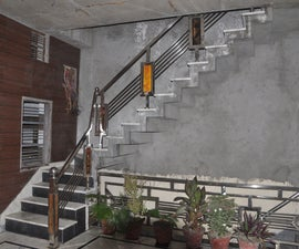 Stainless Steel Stair Guard Rail Build & Installation