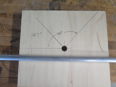 Scale Prototype - Hole Locations ( Radially Accurate Cable Trajectories )