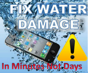 How to Fix a Wet  Cell Phone in Minutes Not Days