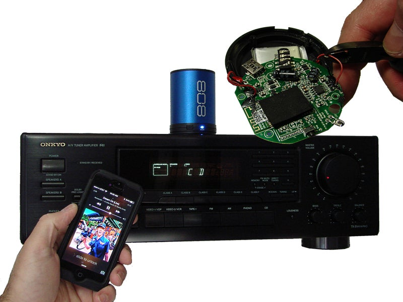 Bluetooth Speaker Hack Home Theater Streaming 8 Steps With Pictures Instructables