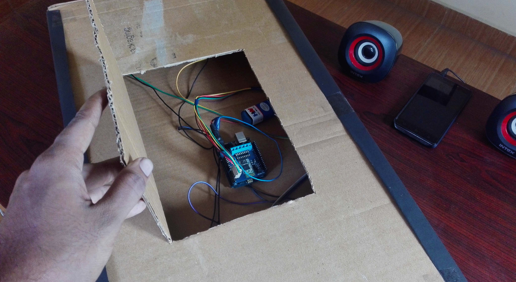 Picture of Pack Everything and Upload Your Program Wirelessly With Jetpack