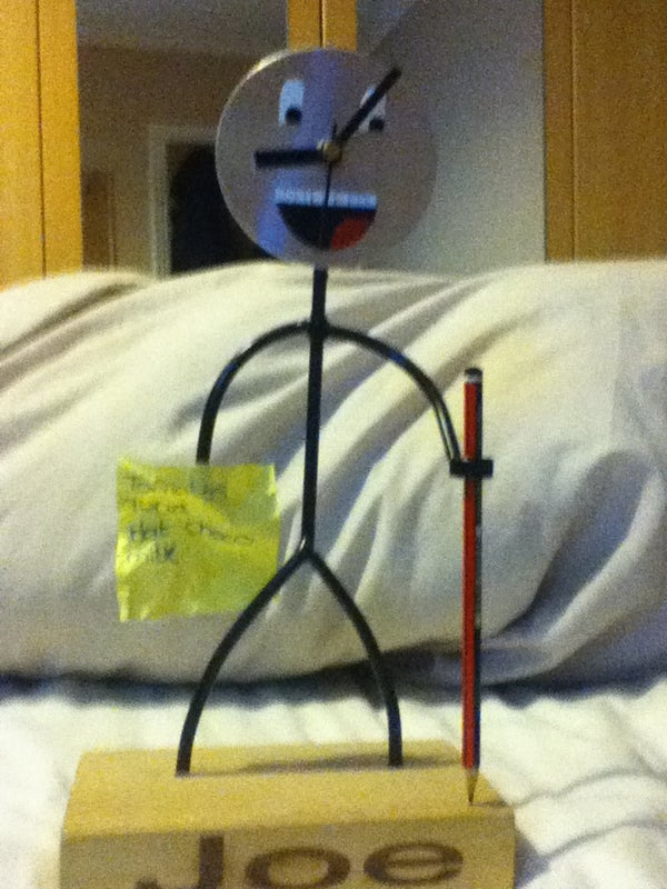 My Smiley Face Clock :D