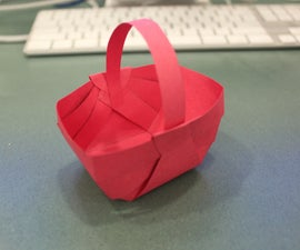 Make a Craft Paper Basket