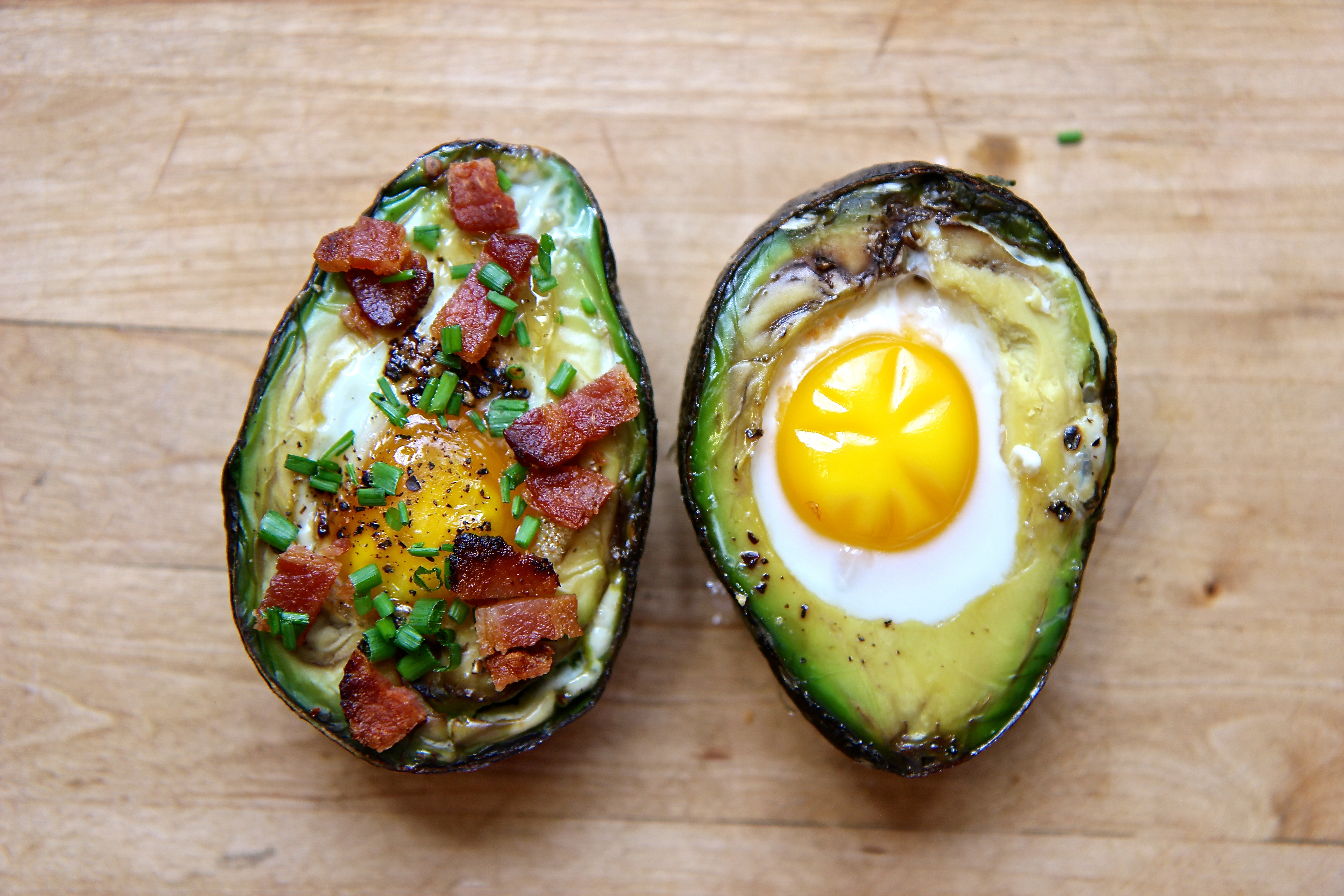 Picture of Egg in an Avocado Hole