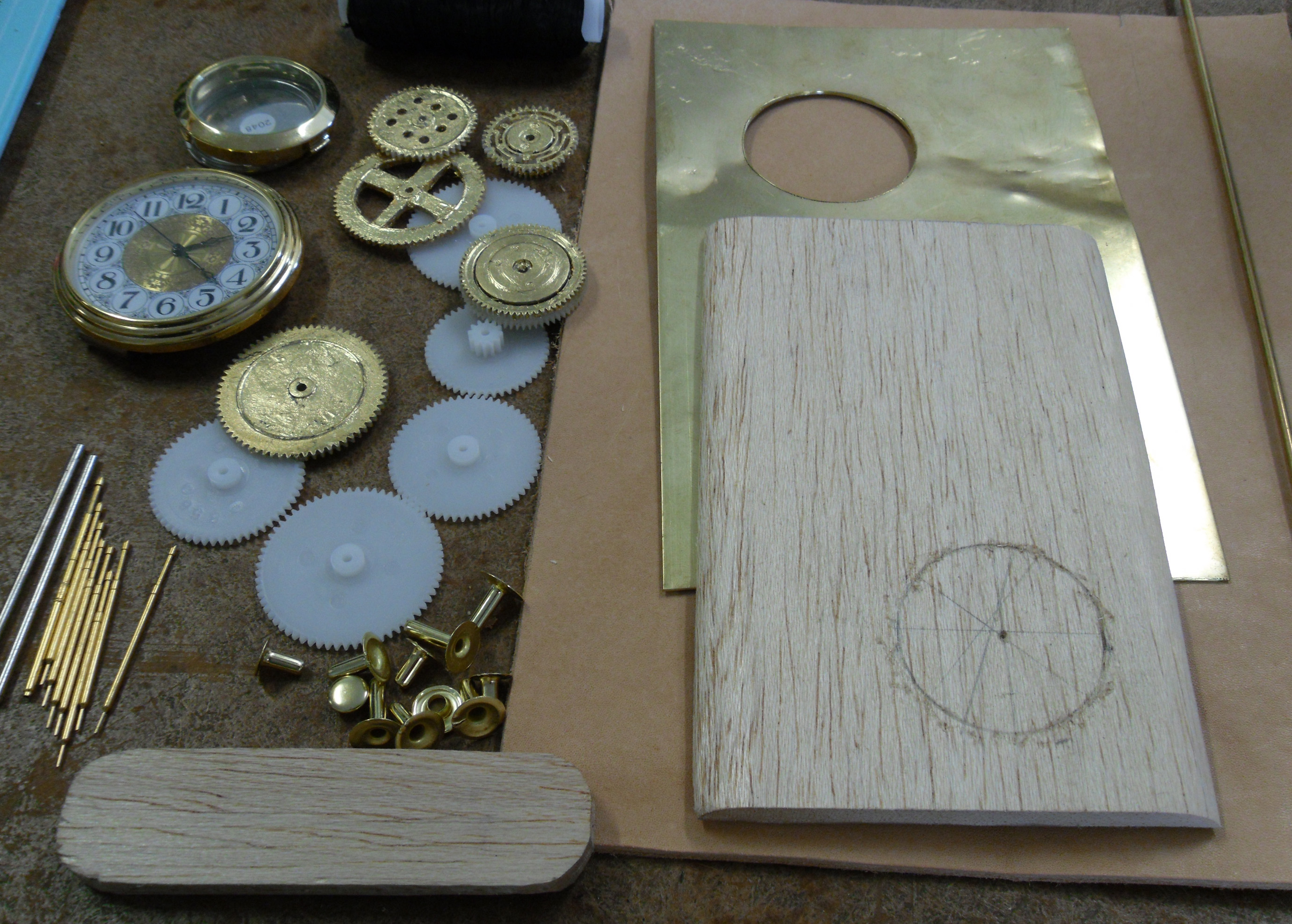 Picture of Making a Steampunk Portable Harddrive Case