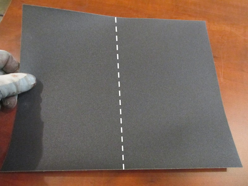 Picture of Cutting the Paper