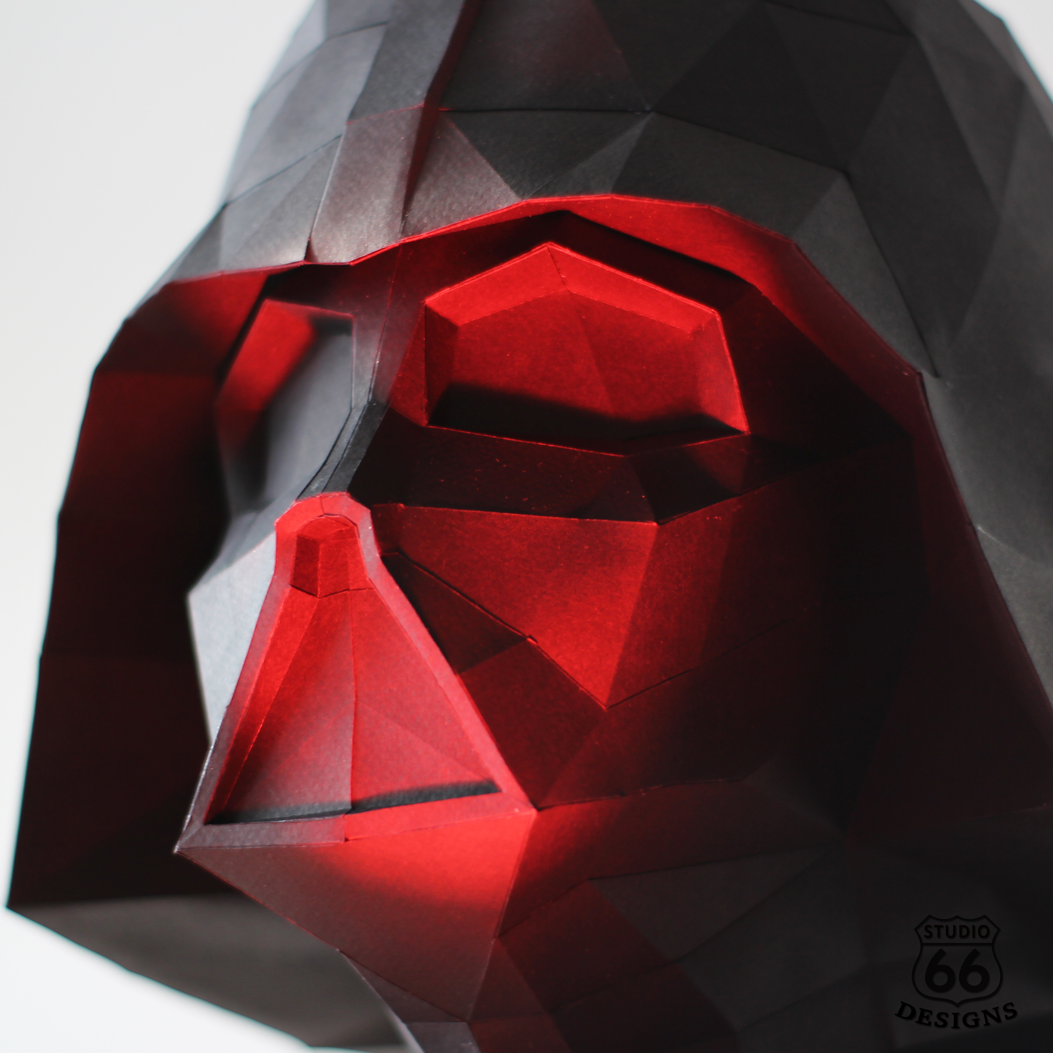 Picture of Darth Vader Bust Papercraft