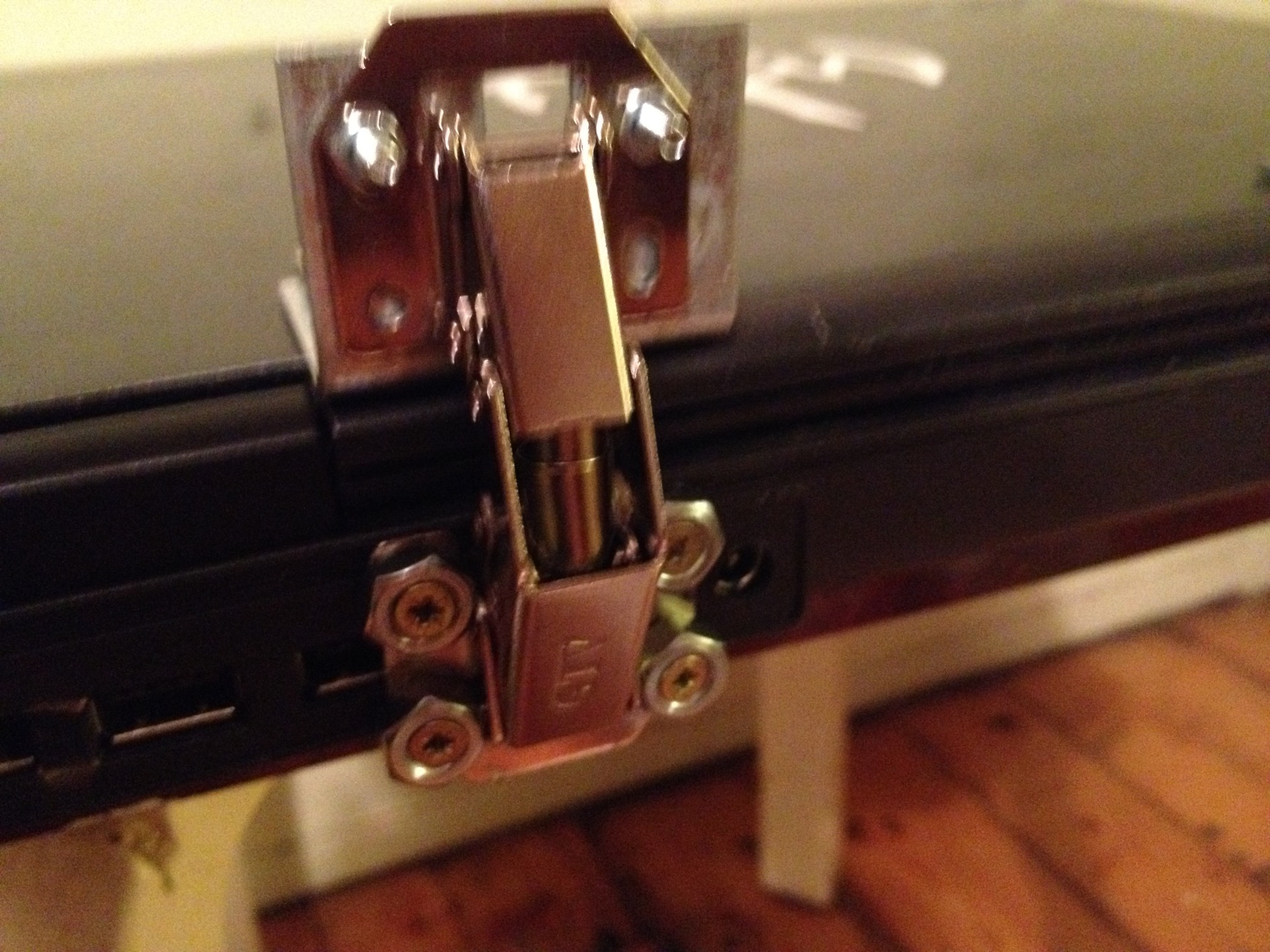 Picture of Repair of Broken Laptop Hinges and Cracked Top Cover