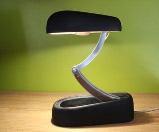 Jumo Inspired Wood Desk Lamp