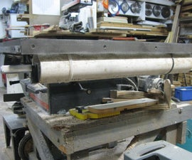 Table Saw Fence Storage Pipe