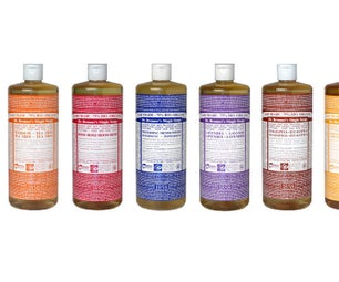 How to Use Dr. Bronner's Soap Instead of Shampoo