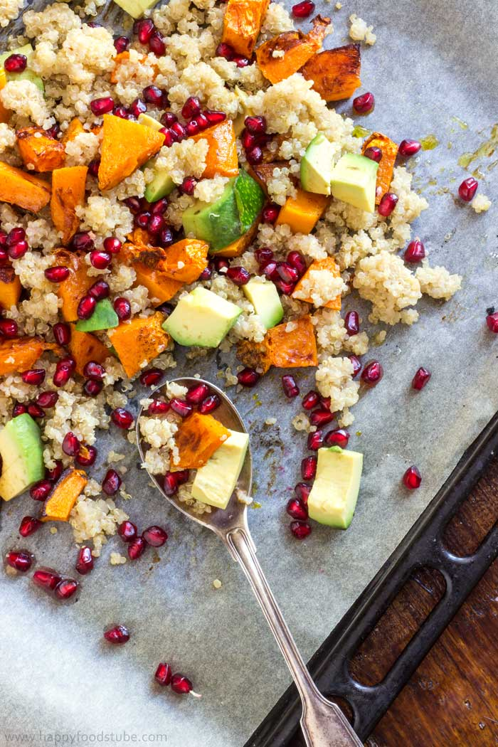 Picture of Butternut Squash Salad With Quinoa