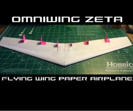 How To Make The Omniwing Zeta Paper Airplane