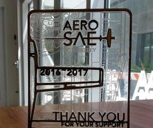 Composite Wood-Acrylic Award