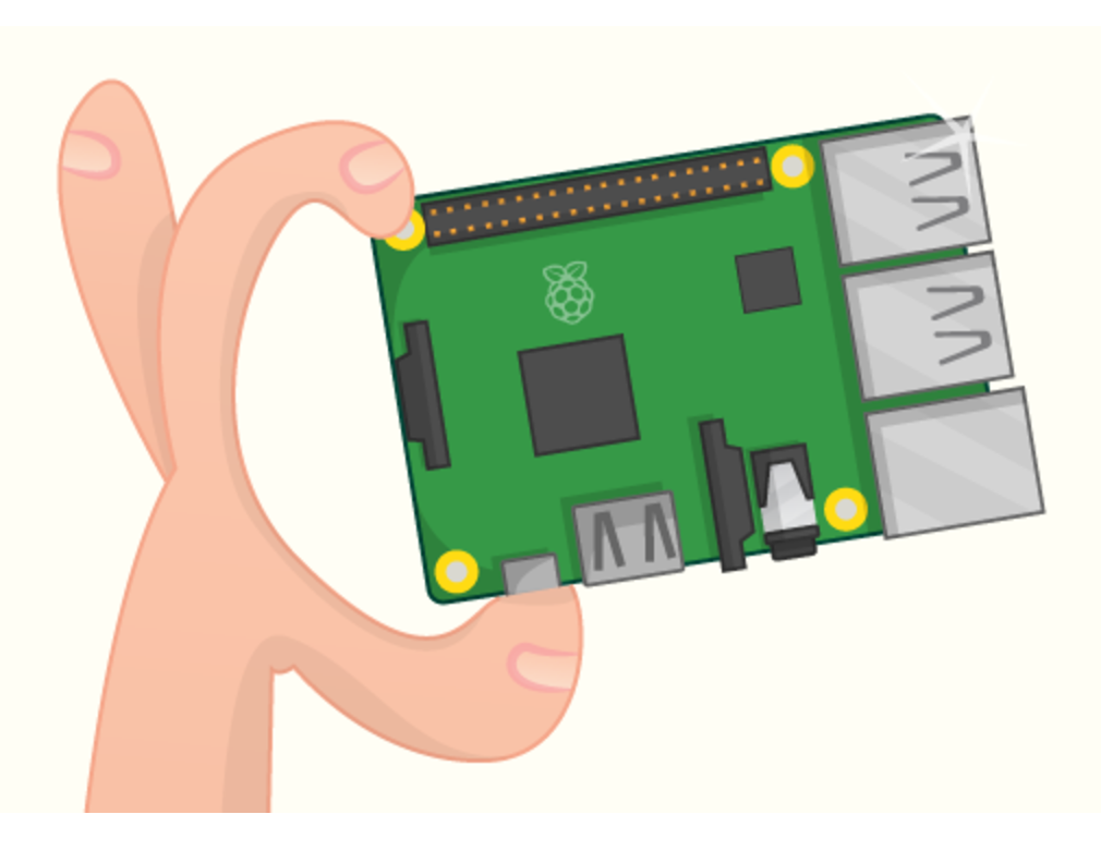 Picture of Initial Raspberry Pi