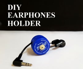 DIY - Earphones Holder