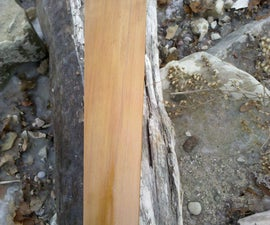 Making a West Greenland style Kayak Paddle