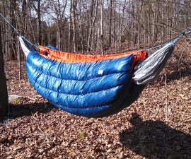 Down Hammock Underquilt - Ultralight, 20*F