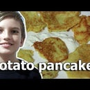 Potato Pancakes. Ukrainian Dish.