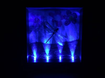 Repurpose LEDs for Shadow Box Lighting