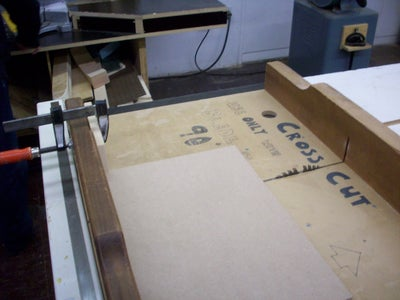 Cutting the Pieces for the Box