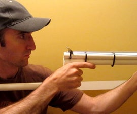 PVC Shotgun – Rubber Band Gun – Nerf Blowgun