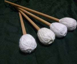 Homemade Marimba Mallets