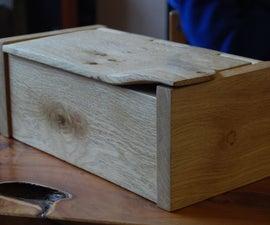 Jewelry Box With Intergral Hinge