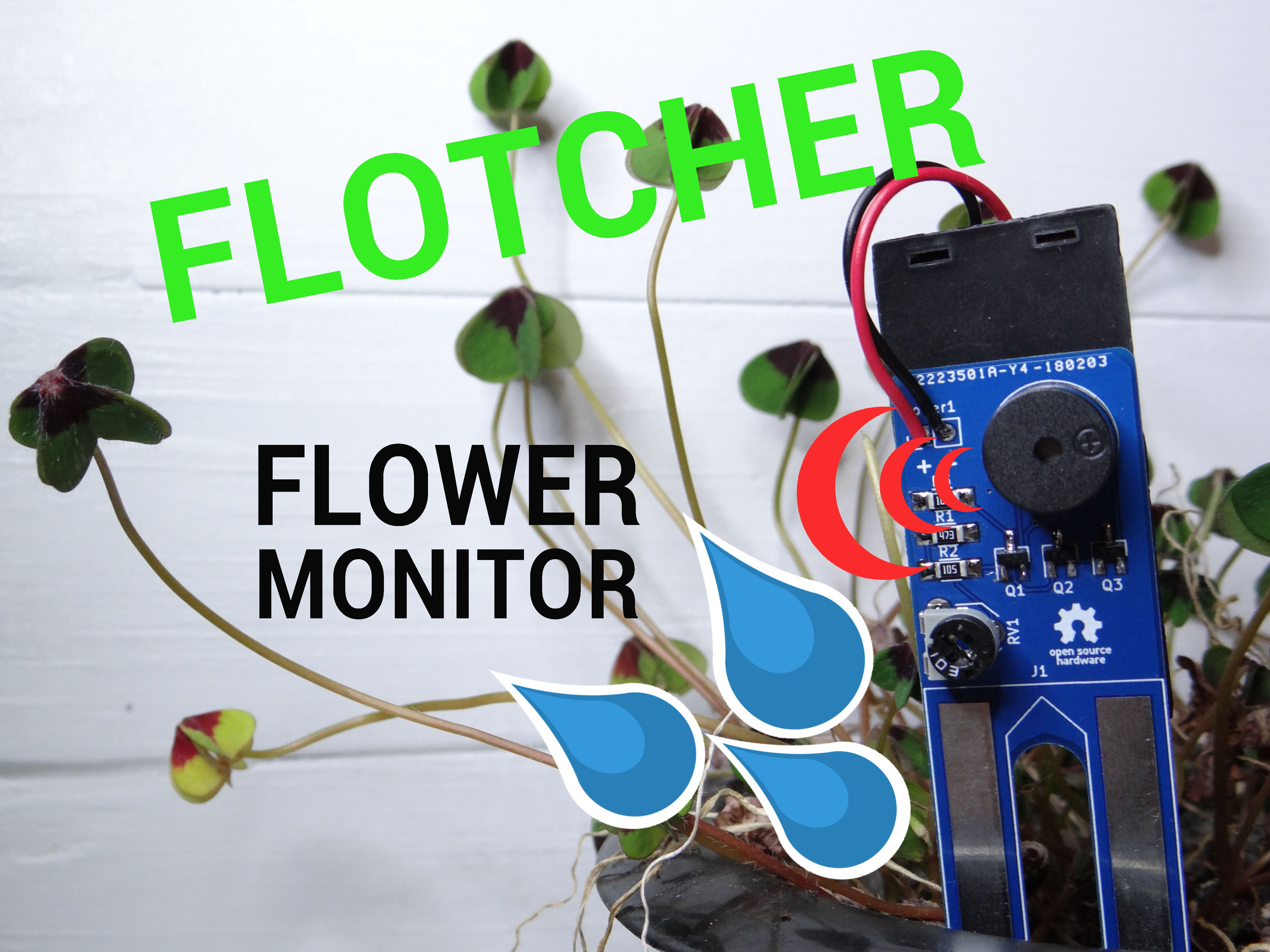 Picture of Flotcher - Simple Flower Monitor