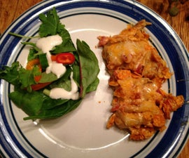 Dorito Chicken Casserole and No-Bake Cookies -- Quick & Easy Dinner Date