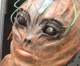 Sfx creature making, model making, molding, sculpting